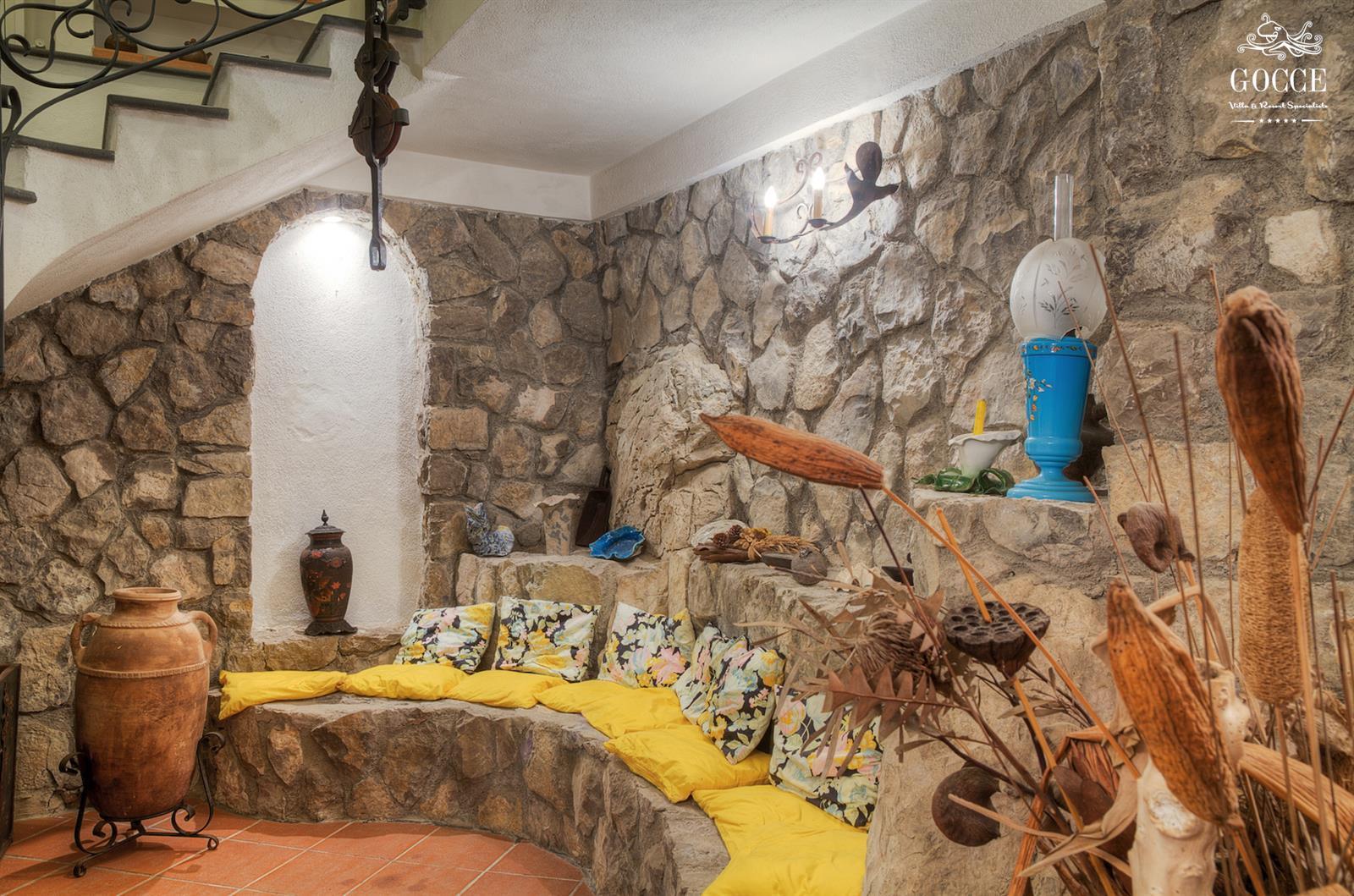 villa il bassotto casa tradizionale italiana con